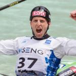 Nejc Žnidarčič, aktualni evropski prvak in svetovni podprvak v spustu s kajakom na divjih vodah